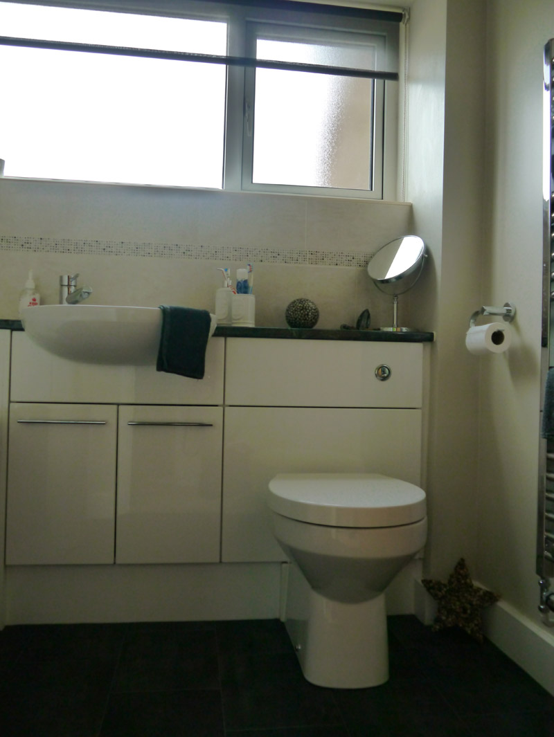 Garage Conversion And Family Bathroom